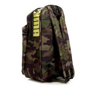PUMA Logo Backpack Camouflage new